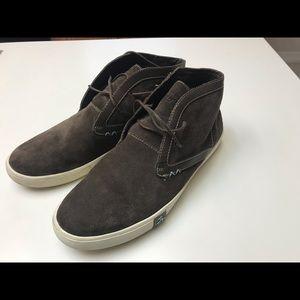 Original Penguin Shoes - PENGUIN brown suede chukka boots sz 9